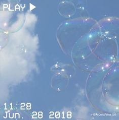 bubbles, blue, and sky image Light Blue Aesthetic, Blue Aesthetic Pastel, Aesthetic Colors, Aesthetic Photo, Aesthetic Pictures, Orange Pastel, Color Celeste, Everything Is Blue, Blue Clouds