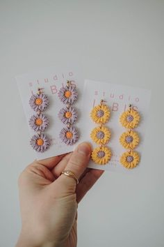 Diy Earrings Polymer Clay, Handmade Polymer Clay, Earrings Handmade, Handmade Jewelry, Modern Jewelry, Jewelry Trends, Statement Jewelry, Sustainable Fashion, Bridesmaid Gifts