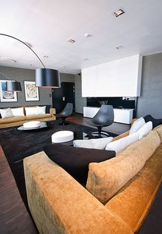 Commercial Interiors, Interior Architecture, Couch, Table, Projects, Furniture, Home Decor, Log Projects, Sofa