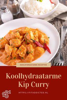 Een heerlijke Afrikaanse koolhydraatarme kip curry recept. Enkel met verse ingrediënten, zoals gember, chilipeper en knoflook. Klik en bekijk dit koolhydraatarme recept. #koolhydraatarm #recepten #lowcarb #kip #afvallen