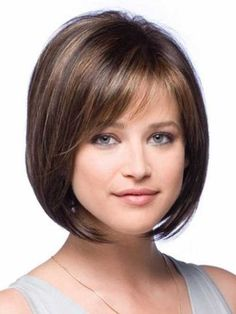 Hairstyles with Bangs for Round Face