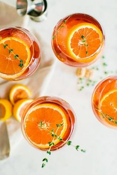 The summer is equal the classic Itallian drink, Aperol Spritz!