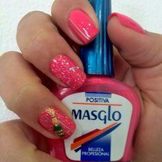 By Masglo Art Nails, Manicure, Hot, Beauty, Fingernail Designs, Salud, Pure Nail Bar, Nail Polish, Cosmetology