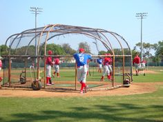 Practice Field at Brighthouse Networks Stadium, Clearwater, Florida. Spring Training home of the Philadelphia Phillies... 2009