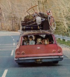 """This is an Ad for the Volkswagen Station Wagon."""" It was the boxy minivan and later the SUV that killed the one ubiquitous station wagon. Volkswagen, Station Wagon, Touring, Vw Camping, Glamping, Automobile, Vw Vintage, Vintage Picnic, Vintage Travel"""