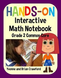 Interactive Math Notebook Hands-On Second Grade Common Core $