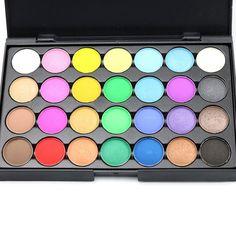 28 mujeres nude maquillaje paleta cosmética shimmer mate paleta de sombra de ojos maquillaje paleta de sombra de ojos profesional pigmento natural