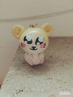 Hamster kawaii en fimo.