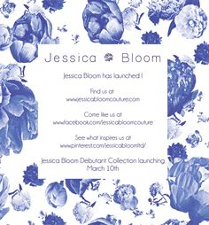 Visit the official Jessica Bloom site for women's designer apparel, Jessica Bloom sells women's evening wear, ball gowns and special occasion wear. Designing Women, Ball Gowns, Product Launch, Bloom, Jewellery, Website, Check, Fashion, Ballroom Gowns