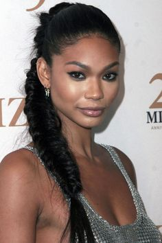 11 Rapunzel-inspired ponytail hairstyles to try now: Chanel Iman's fishtail ponytail