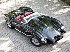 Phony Rosa 1958 Ferrari Testa Rossa Top View