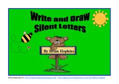 This packet contains Silent Consonant Letters. Included are mb, gn, ch, kn, sc, st, silent u, wr, and wh.