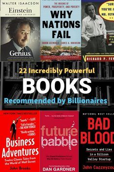 22 Powerful Business Books Recommended by Billionaires Feel Good Books, Books To Read, My Books, Reading Lists, Book Lists, Self Development Books, Management Books, Life Changing Books, Motivational Books