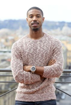 Pin for Later: Hot Stars Who Really Have That Sexy-Squint Thing Down Michael B. Jordan