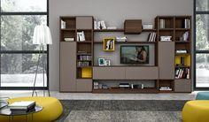 salones y sofás salones modernos L51 Lineal
