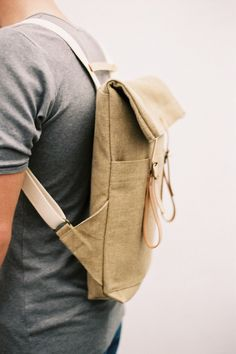 SALE: now up to 50% off - Newspaper Rucksack Raw Natural