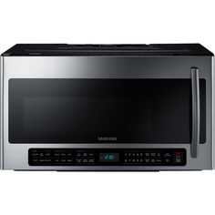Shop a great selection of Samsung Cu. Fingerprint Resistant Stainless Steel Over The Range Microwave. Find new offer and Similar products for Samsung Cu. Fingerprint Resistant Stainless Steel Over The Range Microwave. Cooking Popcorn, Kitchen Installation, Cubic Foot, Microwave Oven, Light Sensor, Food Items, Interior Lighting, Cool Things To Buy, Samsung
