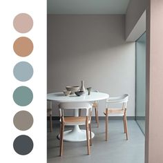 CREATIVE LIVING - where Scandinavian Interior Design meet International Trends: Soft pastel color combos