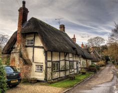Thatched Cottages in Church Lane, Wherwell | Flickr - Photo Sharing!