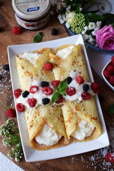Sweets Cake, Pancakes And Waffles, Crepes, Delicious Desserts, Meal Planning, Deserts, Food And Drink, Bread, Diet