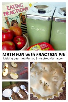 "Making ""Fraction Pie"" Makes Math Fun! #kids #pie #homeschool #kbn #SmartCookies AD"