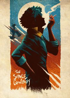 A gorgeous and relaxing artwork featuring Spike Spiegel from Cowboy Bebop from the artist Retina Creative Tv Anime, Anime Plus, Manga Anime, Anime Art, Cowboy Bepop, Cowboy Bebop Anime, Akira, Cowboy Bebop Wallpapers, Space Cowboys