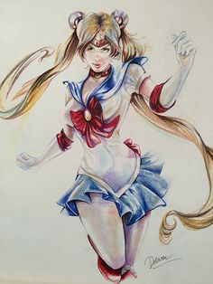 Sailor Moon - Fan/Pinup Art Comic Art