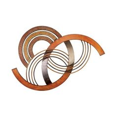 Brown Wave Unique Abstract Metal Wall Art: Home & Garden ($45) ❤ liked on Polyvore featuring home, home decor, wall art, abstract home decor, brown home decor, abstract wall art, metal home decor and garden wall art