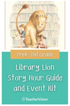 Looking for story time ideas? Introduce young children to the library by hosting a Library Lion story hour by using this downloadable printable. Enhance children's reading experience with the discussion questions, craft projects, and singing activity in this printable event kit! Perfect for PreK-2nd Grade students. Reading Resources, Reading Skills, Kindergarten Worksheets, Kindergarten Activities, Lion Story, Graphic Organizers, Young Children, Learn To Read, Reading Comprehension