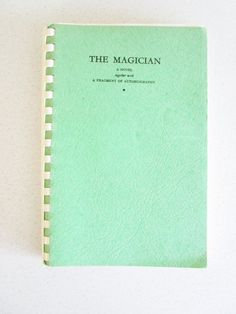 The Magician & Autobiography Vintage Rare 1974 W Somerset Maugham Vintage Book