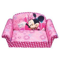Silla Sillon Sofa Cama Para Niña Minnie Mouse