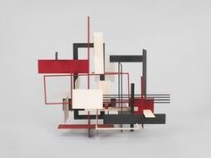 Whitney Museum of American Art: Sidney Gordin: Construction, Number 10, 1955