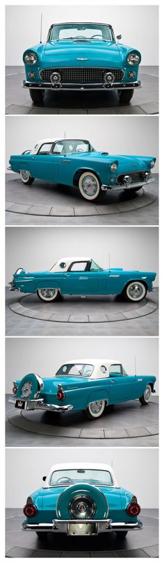 1956 Ford T-bird ♥....Re-pin...Brought to you by #CarInsurance at #HouseofInsurance in Eugene, Oregon