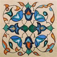 beautiful motif and colors