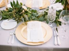 Photography: Brumley And Wells - brumleyandwells.com  Read More: http://www.stylemepretty.com/2015/03/11/tuscan-inspired-summer-country-club-wedding/