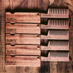 Feels good to be sending these out the door again. Surprised at how many of the fine tooth you guys are scooping up.  Thanks for the support everyone. It's much appreciated #bigredbeardcombs #beardcomb #beardcombs #woodcomb #pocketcomb #comb #beards #beard #bearded #beardedmen #mustache #beardcare #noshave #beardgang #beardstagram #beardsofinstagram #girlswholovebeards #gentlemen