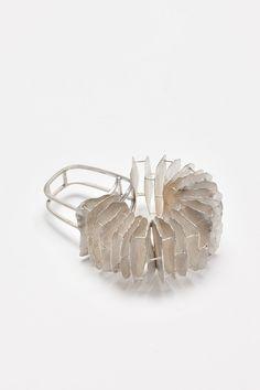 NAOKO INUZUKA - JP-AU, 'Opened' Ring', Sterling Silver, 55 x 40 x 23 mm.