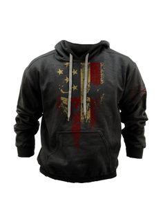 American Reaper Sweatshirt - Grunt Style Military Charcoal Sweatshirt Hoodie