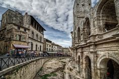 Enjoying our stay in beautiful Arles, France! J'adore Provence!