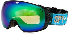 Spy Bravo Goggles Asian Fit Field of Dreams Bronze Green Spectra BC Bonus Lens * Click image to review more details.