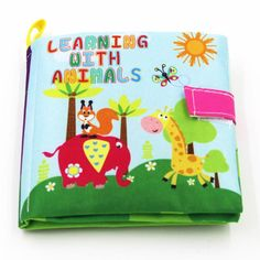 Baby Toys Soft Cloth Books Rustle Sound I