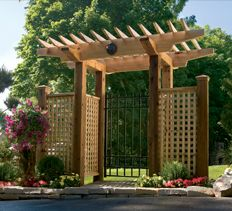 garden arbor gate project