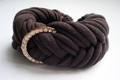 Hey, I found this really awesome Etsy listing at https://www.etsy.com/listing/225601899/brown-fabric-bracelet-hand-made-bracelet
