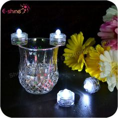Factory Wholesale White Bright Froal LED Submersible Lights