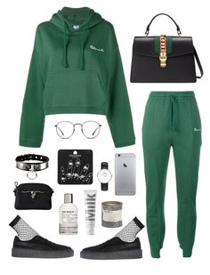 vete by millicent4 on Polyvore featuring Vetements, Lamoda, Puma, Gucci, Topshop, Ray-Ban, MILK MAKEUP and Le Labo
