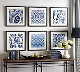 Framed Ikat Prints