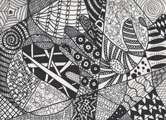 Zentangle #3 by ~sucky-art-girl101 on deviantART