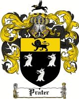 Prater Coat of Arms / Prater Family Crest