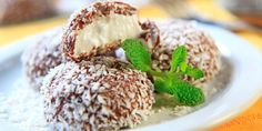 Healthy Sweets, Healthy Snacks, Pavlova, Veggie Recipes, Veggie Food, Low Carb Keto, No Bake Desserts, Salmon Burgers, Deserts