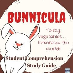 Bunnicula Student Comprehension Study Guide